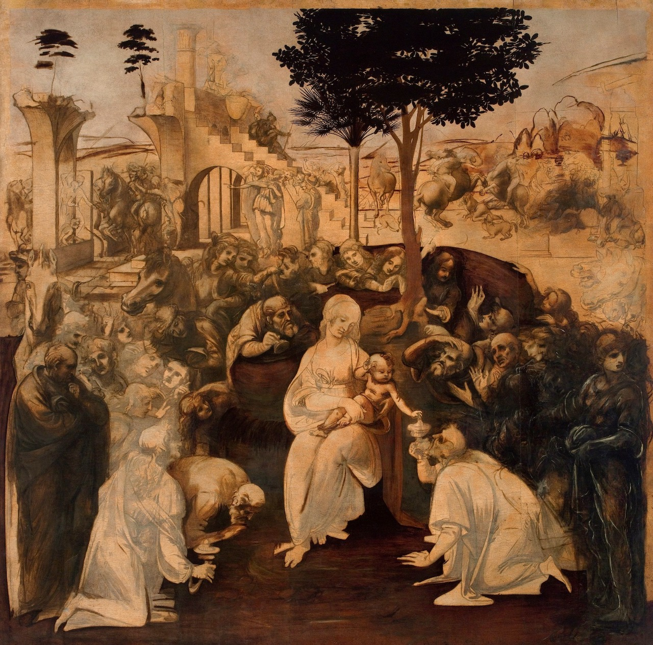 At the Uffizi, the Nativity told in the language of art
