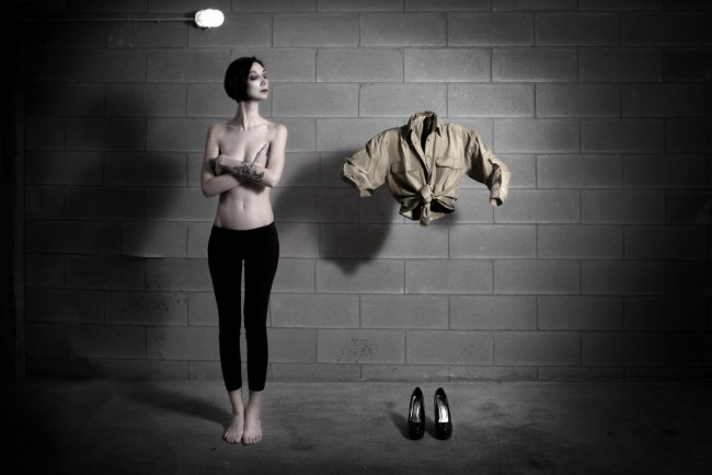 Ettone, Me and My Clothes, 2012, fotografia digitale. Modella Requiem Magnolia