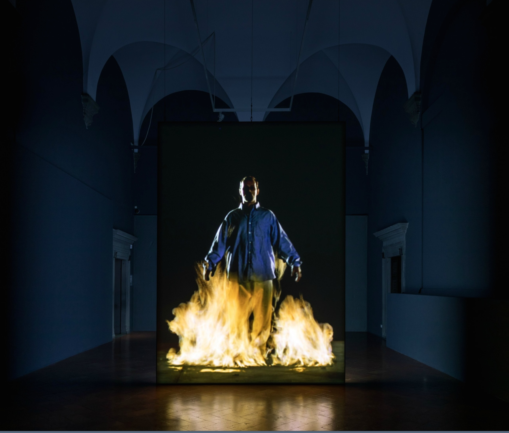 Bill Viola, the humanity and the nature's forces
