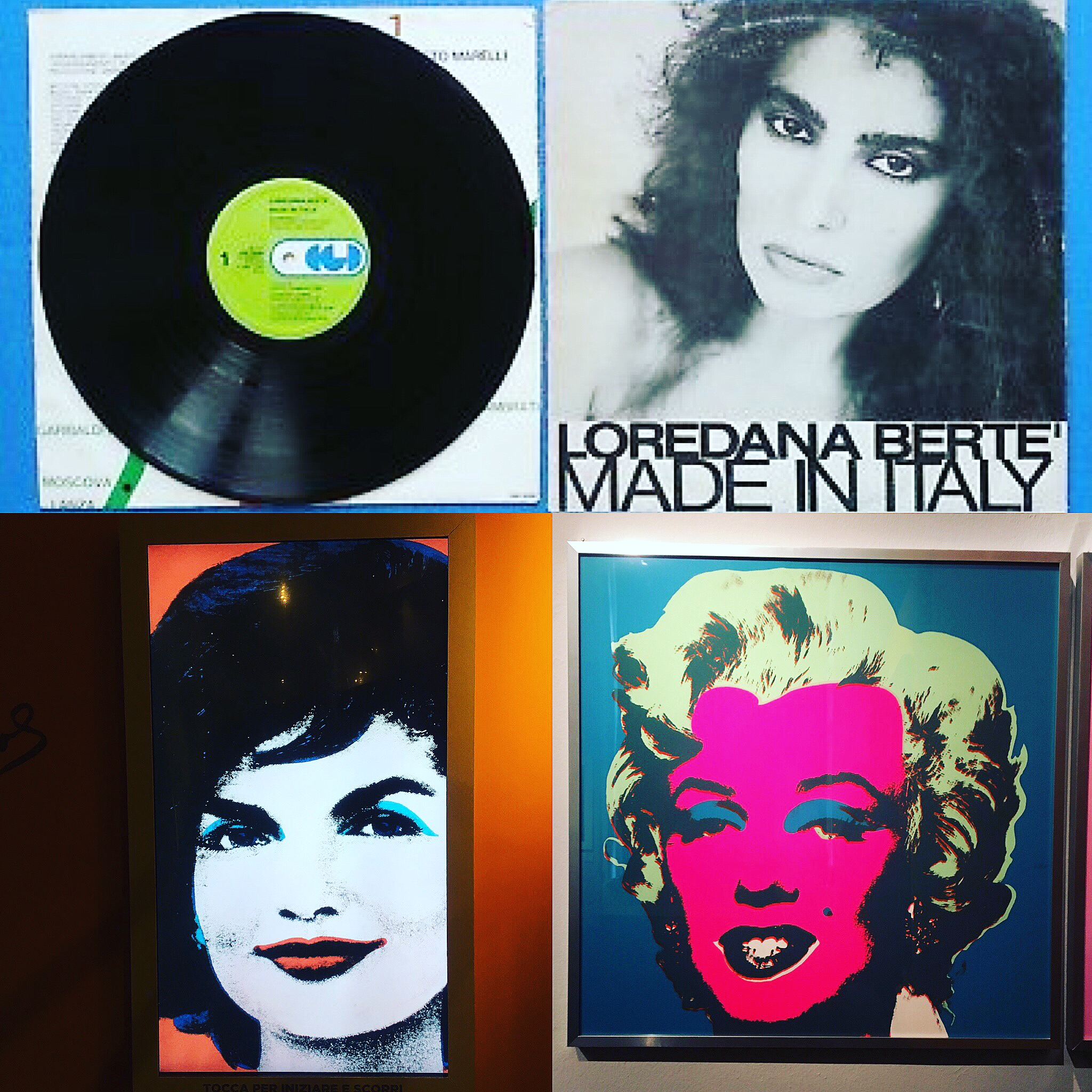 Andy Warhol and Loredana Bertè A legendary duet