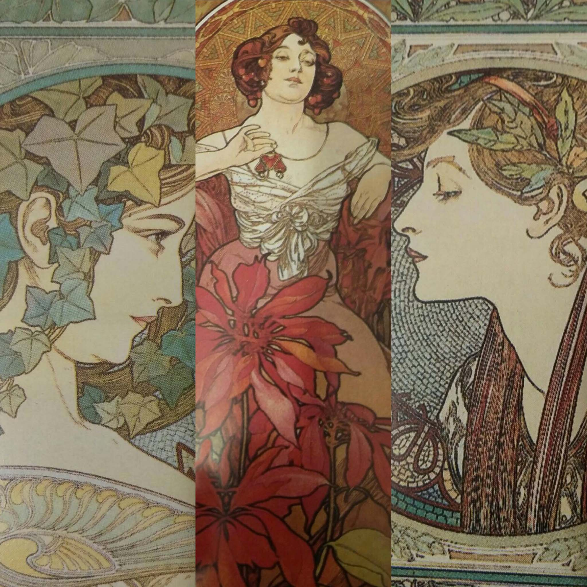 Mucha. The monotony of sophistication
